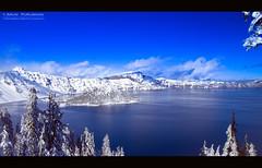 Breathe (TheDimensions) Tags: lake nature oregon america landscape volcano nationalpark crater craterlake