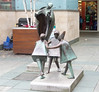 For many decades, the statute of the Fiddler of Dooney has been a lovely centrepiece of the Stillorgan Shopping Centre Ref-100117
