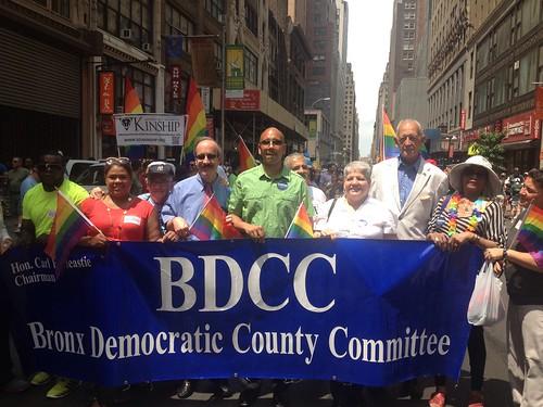 Bronx Democrats Pride Parade
