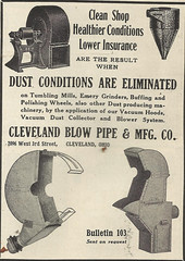 Cleveland Blow Pipe _ mfg co (Kitmondo.com) Tags: old colour history industry work vintage magazine advertising photo industrial factory technology tech cleveland working machine advertisement equipment business company machinery advert labour historical kit oldequipment publication metalworking oldadvert oldmagazine oldwriting vintageequipment oldadvertisment oldliterature vintagepublication oldpublication machinerypublication