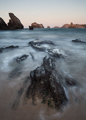 The Bigger Picture (MANUELup) Tags: longexposure sunset sea seascape spain rocks cantabria select liencres biggerpicture somocuevas