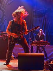 Enslaved (Stephen J Pollard (Loud Music Lover of Nature)) Tags: livemusic vocalist concertphotography guitarist vocalista guitarrista keyboardist enslaved tecladista ivarbjornson herbrandlarsen