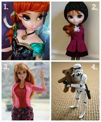 My Flickr Year 2014 (Starlight, Starbright) Tags: anna toys frozen george barbie stormtrooper pullip midge 2014 alaric starlightstarbright myflickryear lifeinthedreamhouse my2014 imperialstormbear