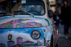 Fiat 500 [#Explored 9/12/2014] (w@@t) Tags: fiat 85mm explore 500 f18 fiat500 d7000