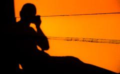 Shadow (imad daoud) Tags: sunset shadow portrait orange rooftop me myself bahamas selfie i