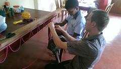 Seifenblasen in Behinderteneinrichtung in Ittapana, Sri Lanka 5