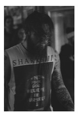 The Hunters (Raphael G Courchesne) Tags: music white black rock tattoo beard grey tour guitar live christmass hardcore massive singer hunters
