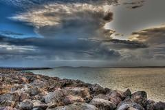 Vista dal Porticciolo (socrates197577) Tags: sardegna nikon nuvole mare hdr paesaggio nuvoloso photomatix