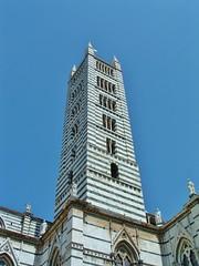 Bell tower, Duomo Siena (stevelamb007) Tags: 2003 italy italia belltower tuscany siena duomo italie umbria