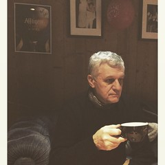 (amandinebenedetti) Tags: portrait france coffee bar dad emotion tea father papa teatime padre clermont