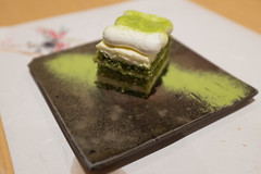 Green Tea Tiramisu (Mike Saechang) Tags: food sushi tiramisu greentea kabuto greenteatiramisu