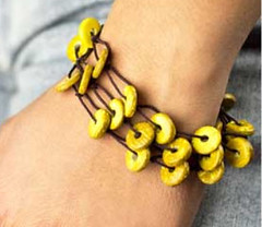 Sunset Sighting Yellow Bracelet K1 P9440-1