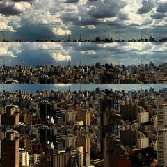 Panormicas Espelhadas | Mirrored Panoramic Pics (detail) (desvirtual) Tags: skyline square downtown sopaulo sp mirrored copan centro espelhadas instagram