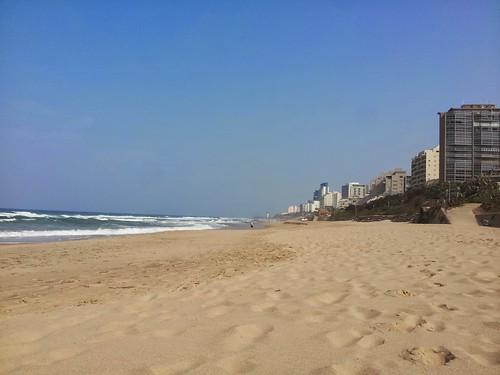 Plage de Durban, Afrique du Sud