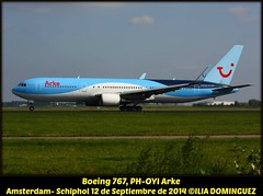 idna263-PH-OYI (ribot85) Tags: amsterdam plane airplane aircraft holanda boeing airlines schiphol ams avion 767 aviones boeing767 arke phoyi