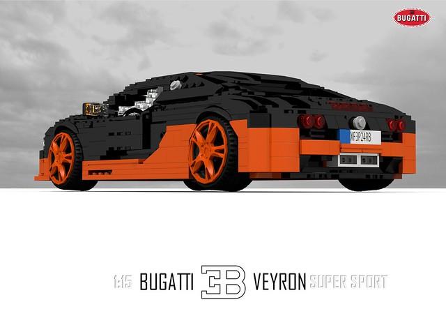 Bugatti Veyron Super Sport (1:15)