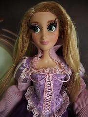 Disney Rapunzel (sh0pi) Tags: inch purple disney le 17 limited edition rapunzel disneystore puppe tangled limitiert