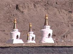 Stupas Sakya Monastery