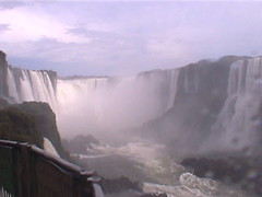 Iguazu Falls Full View