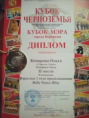 Дипломы Ольги Бочкаревой (10)