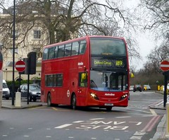 Metroline TEH1227 (LK61BKG) on route 189 at Baker Street - 28th February 2015 (Alex-397) Tags: bus london buses kensington southkensington