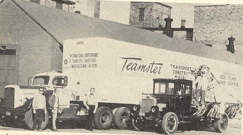 Labor Day Ontario 1966 Teamsters Truck / Fête du travail, Ontario, 1966 : camion de Teamsters