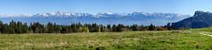 Belledonne, Oisans, Taillefer et Vercors (Pierrotgianese) Tags: france alps alpes grenoble landscape nikon pano panoramic paysage vercors panoramique belledonne isre d90 dauphin