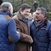 Javier Fernández asiste al homenaje a Manuel Llaneza