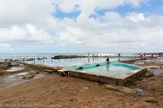Coalcliff rock pool (JimmyBBlaze) Tags: park cliff feet beach pool rain rock royal footprints sunny dirty national thongs coal kiama garie coalcliff