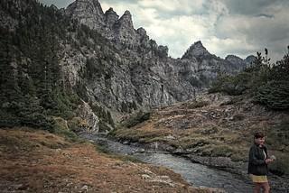 Top of Pine Creek Trail, Montana USA