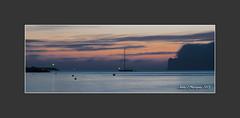 MALLORCA.- Bahía de Santa Ponsa (Juan J. Marqués) Tags: azul mar atardeceres mallorca horizonte