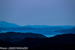 Blue tones (2000stargazer) Tags: blue mountains norway canon dark landscapes horizon scandinavia fjords