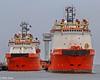 """Normand Draupne"" & ""Normand Skarven"" (Malte Kopfer Photography) Tags: offshore normand cuxhaven bohrinsel versorger offshoresupplyvessel normandskarven offshoreversorger normanddraupne"