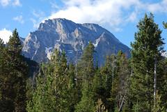 Mt. Moran (mike_jacobson1616) Tags: sky mountain mountains nationalpark peaks tetons grandteton tetonrange grandtetonnationalpark mtmoran leighlake leighlaketrail