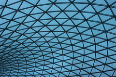 British Museum | Roof (jkr1812) Tags: roof sky glass monochrome architecture pattern structure britishmuseum