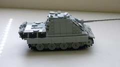 Jagdpanther (Sd.Kfz. 173) Ausf G1 (-PanzerGrenadier1-) Tags: germany tank lego destroyer ww2 tanks 173 afv jagdpanther sdkfz panzerjaeger