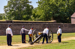 Fort-Washington-41 (vaabus) Tags: fortwashington fortwashingtonmaryland fortwashingtonpark bastion casemate cannon 24poundercannon caponniere civilwardefensesofwashington fortification