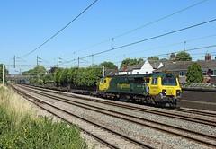 70002, Atherstone, 19 July 2016 (Mr Joseph Bloggs) Tags: freightliner freight cargo merci train treno 70 70002 coatbridge daventry atherstone west coast main line bahn