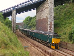 47206, 51 years old 6/8/16 (Stapleton Road) Tags: class57 railway teignmouth