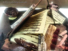 Schokolade & Musik / Chocolate & music (linie305) Tags: schokolade chocolate musik music noten sweets notenbuch roll over beethoven rolloverbeethoven