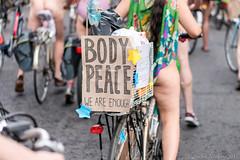 World Naked Bike Ride London 2016 (Sacha Alleyne) Tags: wnbr protest wnbr2016 nude naked nudism nakedinpublic london worldnakedbikeride