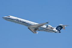 Alaska Airlines (SkyWest Airlines) Bombardier CRJ-701ER N218AG (jbp274) Tags: airport airplanes oo ont crj alaskaairlines bombardier skywest kont