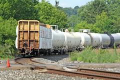 Bulging Cargo (craigsanders429) Tags: csx csxtrains csxnewcastlesubdivision clintonohio csxinclintonohio warwick tankcars