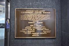 DSC_1434 (billonthehill2001) Tags: boston subway mbta governmentcenter greenline blueline
