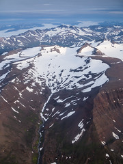 Mountains in Akureyri