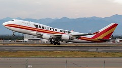 "N741CK, Kalitta Air, 747-4H6(BCF), with ""Scott Kalitta"" sticker, PANC, July 2016 (a2md88) Tags: n741ck scottkalitta kalittaair 7474h6bcf 747 b747 b744 b744f b747f panc anc anchorage airport aviation cargo freighter jumbojet avgeek avnerd airplane departure alaskaaviation tedstevensanchorageinternationalairport"