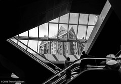 Central Library - V (Theunis Viljoen LRPS) Tags: netherlands rotterdam centrallibrary