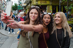 Week 33/52:The 2016 Edition - Technology - DSC_0036 (John Hickey - fotosbyjohnh) Tags: 2016 august2016 lady people person selfie mobilephone phonecamera technology street group nikon nikond5100 52weekproject 52weeks2016 week332016 52weeksthe2016edition weekstartingfridayaugust122016