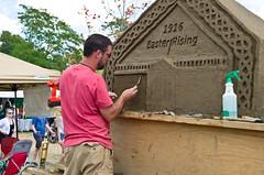 Sand Carving (ramseybuckeye) Tags: dublinirishfestival dublin sand carver irish sestival usa ohio pentax art life