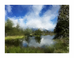 Schwabacher Landing (creativegenius5) Tags: painting landscape fun creative scenic adobe wyoming grandtetonnationalpark paintcan paintcanapp version156 build684
